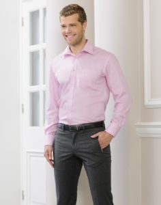 Chemise pour un style smart casual chaud pour l'hiver
