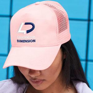 Casquette personnalisée avec logo d'entreprise