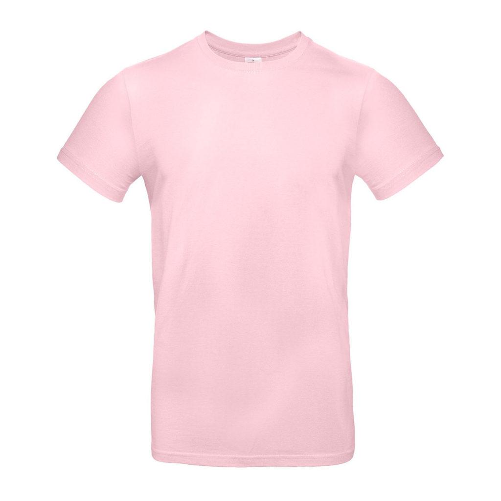 T-shirt personnalisable rose pastel pour le printemps & l'été