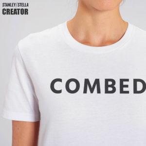 T-shirt personnalisé en coton filé peigné